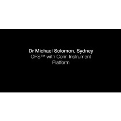 Dr Michael Solomon Direct Anterior Approach Corin OPS Purist Leg Positioning System